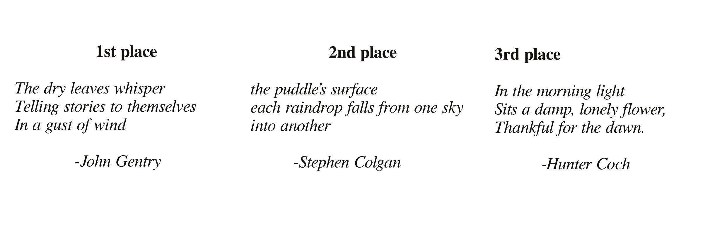 example of haiku about nature 5 7 5 tagalog