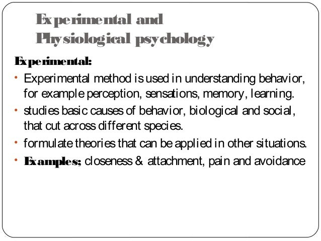 what is an example of eclectic approach in psychology