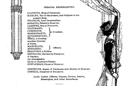 dramatis personae is an example of what