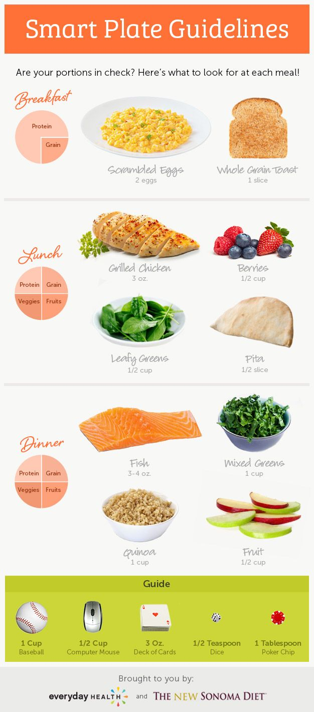 menu example for 56 year old woman to lose weight