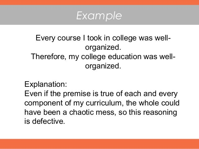 fallacy of the converse example