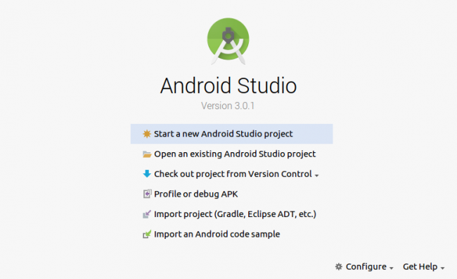 simple listview example in android studio