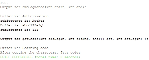 mutable class in java example