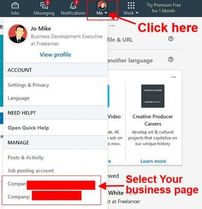 example of a connection invite on linkedin