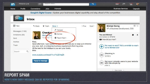 linkedin connection request message example