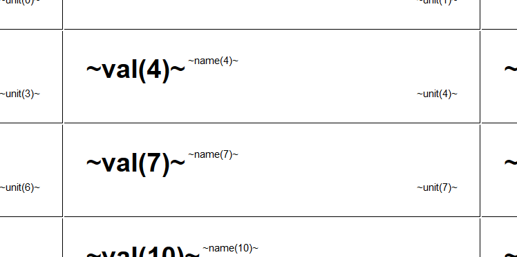 css div table style example