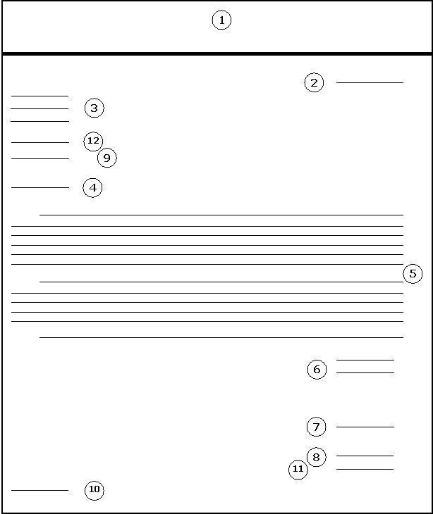 indented style letter format example