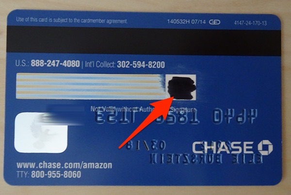 example of credit card number and cvv