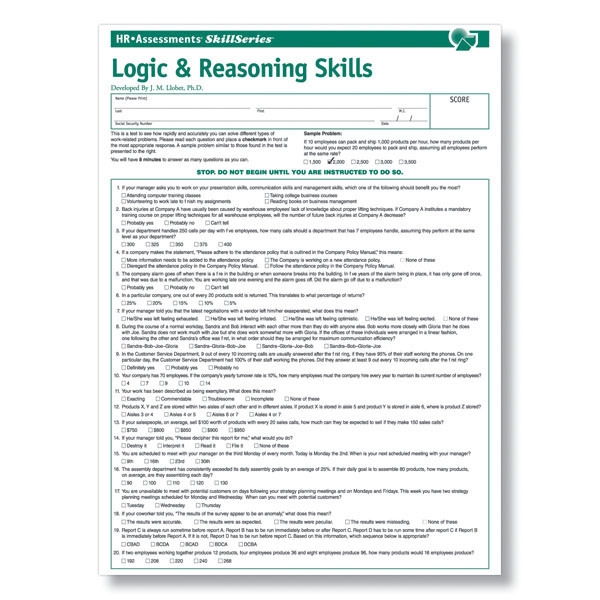 example of analytical skills in human resources