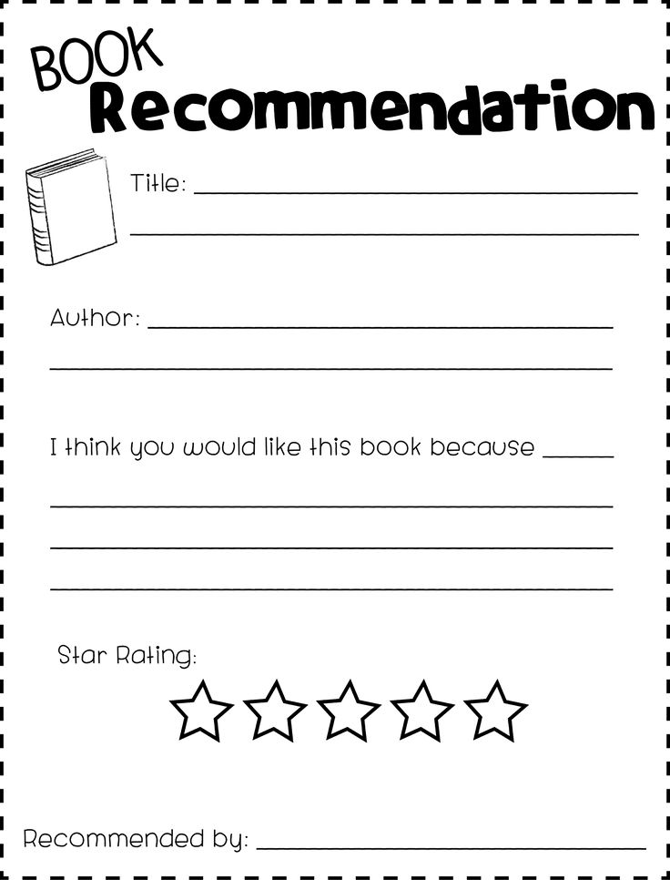 example book review high school students