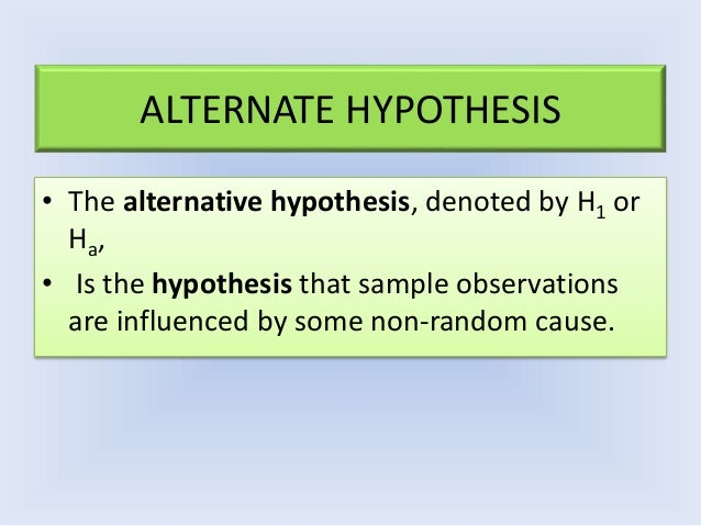example of directional hypothesis in nursing