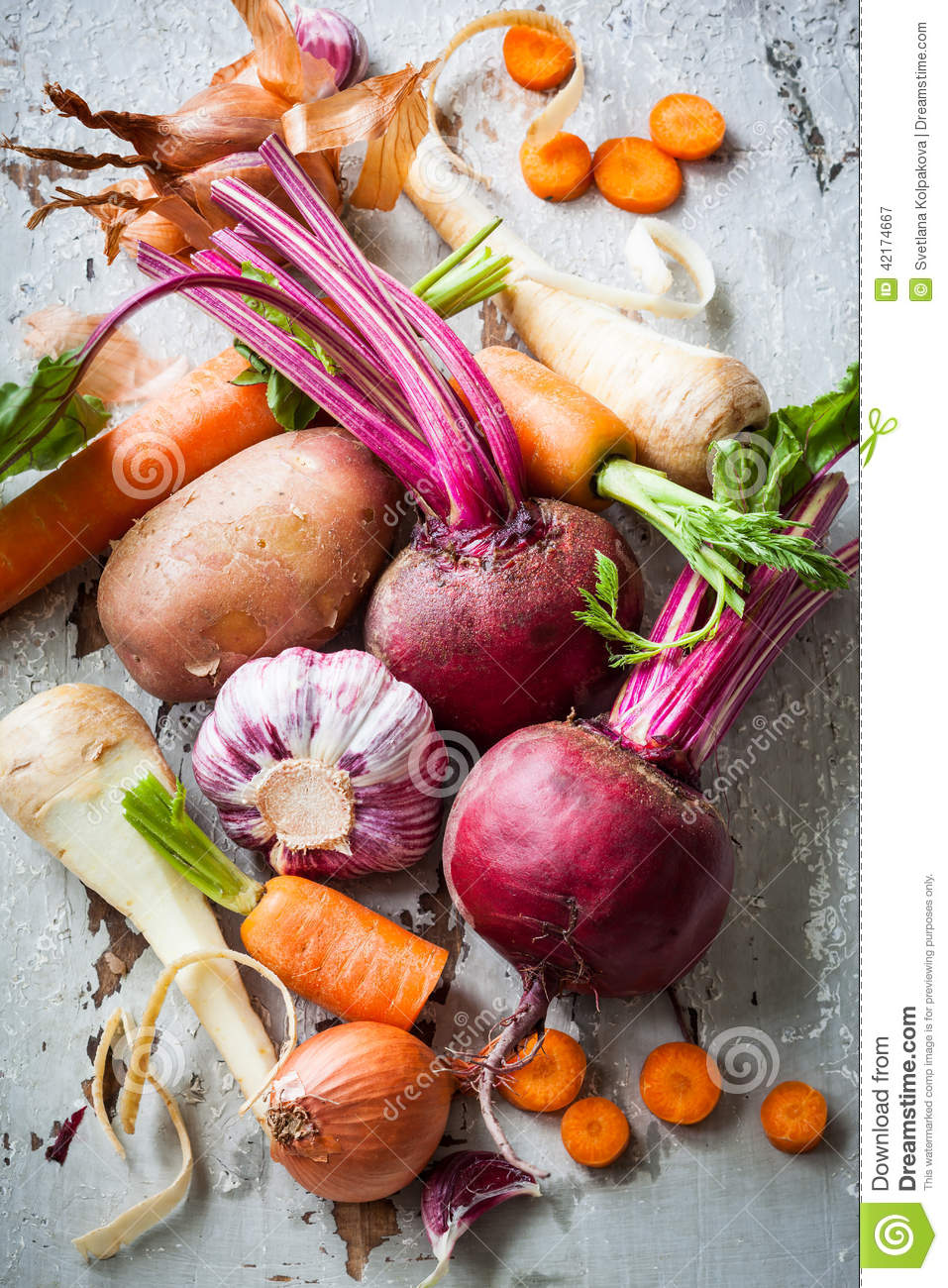 a carrot is an example of what kind of root