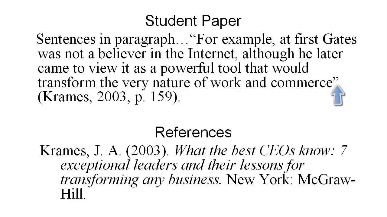 example of citing a book