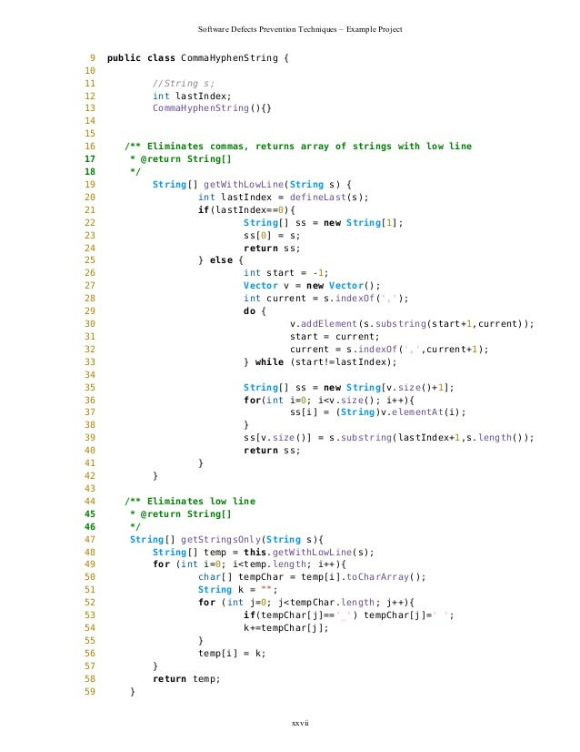 substring in java example code