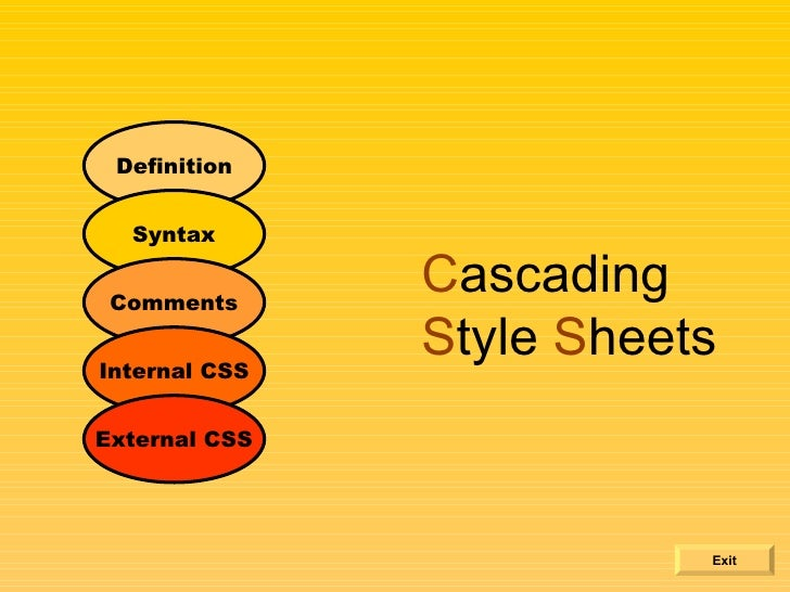 example of a basic css external style sheet