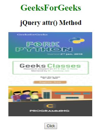 on method in jquery example