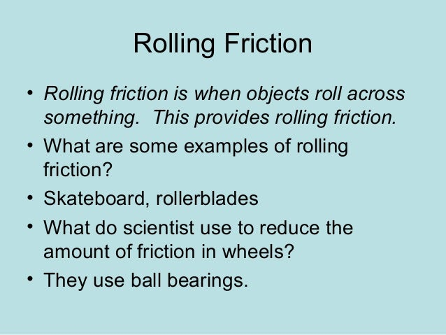 what is an example of static friction