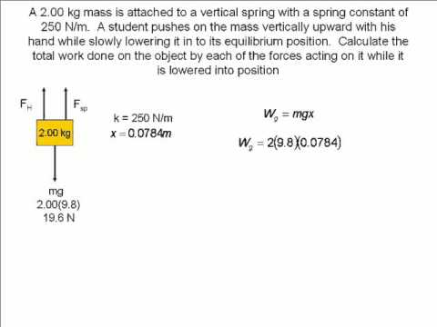 example of work problem with solution in physics