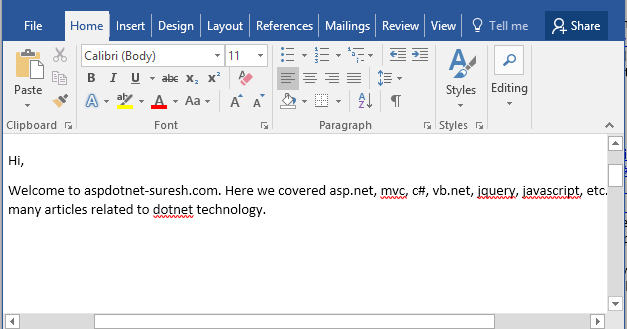jquery grid example in asp net c#